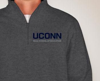 Sweatshirt front example
