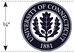 UConn Seal minimum size
