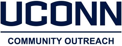 UConn community outreach logo