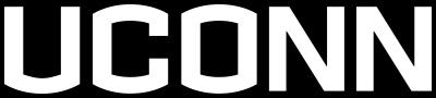 UConn white logo