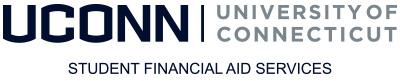 UConn Student Financial Aid Services horizontal logo