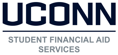 UConn Student Financial Aid Services stacked logo