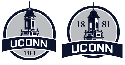 1881 UConn alternative badges