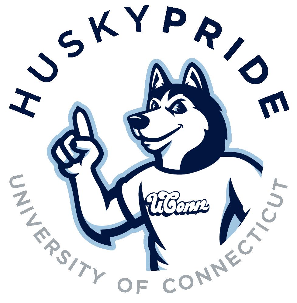 Husky Pride with Jonathan the Husky mascot