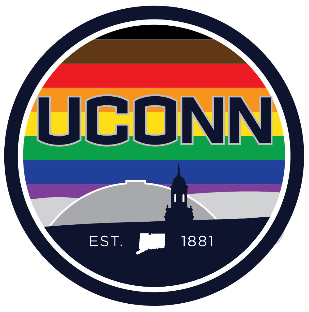 UConn Inclusive logo with skyline