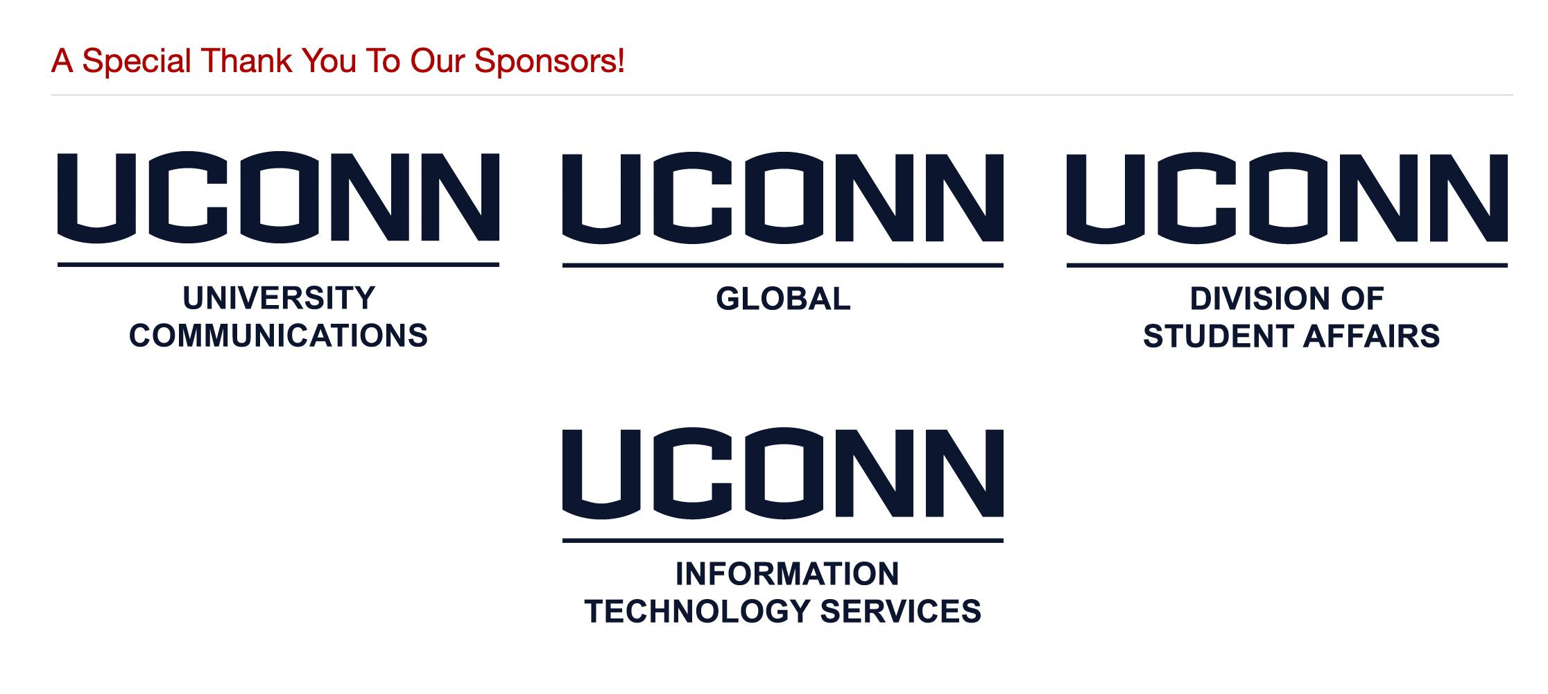 Example of sponsor logos bad
