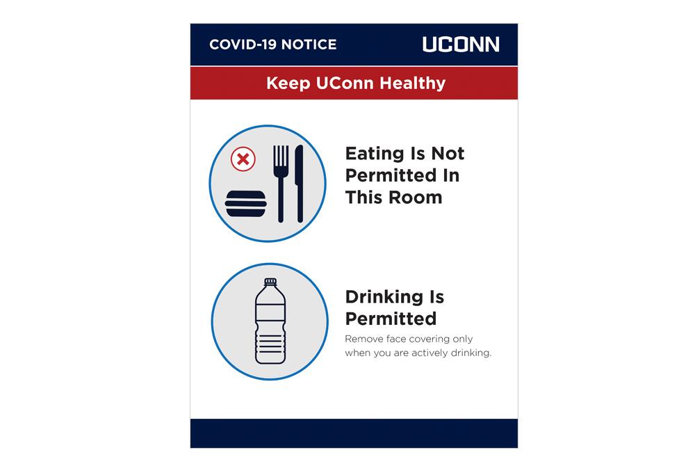 No eating Drinking